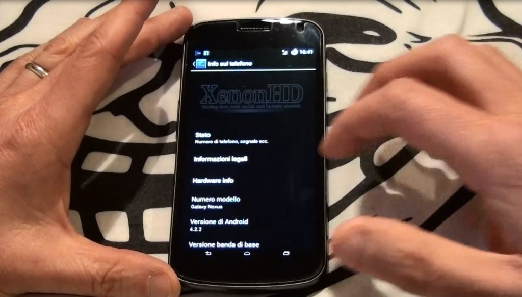 ROM XenonHD 4.2.2 Galaxy Nexus