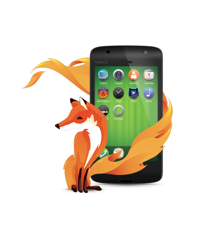 Firefox OS_phone_green