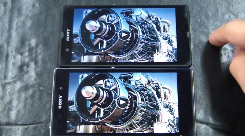Sony Xperia Z vs Z1