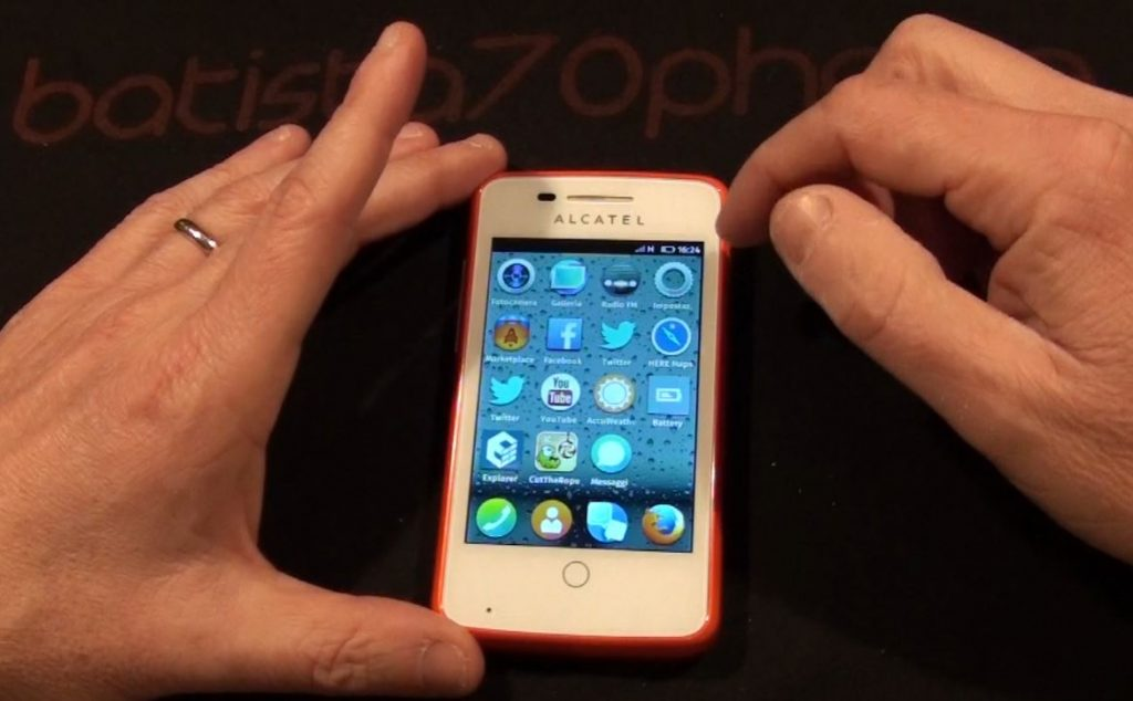 Alcatel One Touch Fire Firefox OS