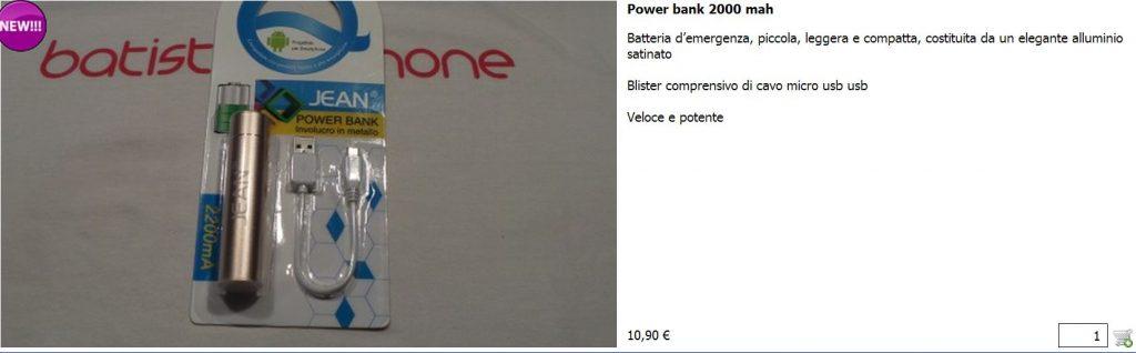 Power Bank 2000