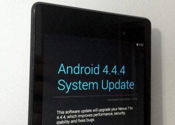 Android 4.4.4 Nexus 7 2013 LTE