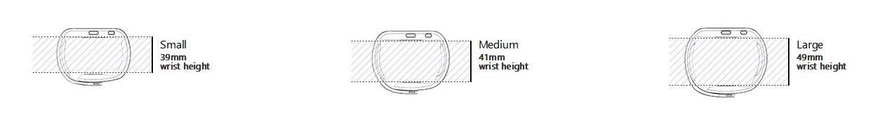 microsoft-Band-taglie