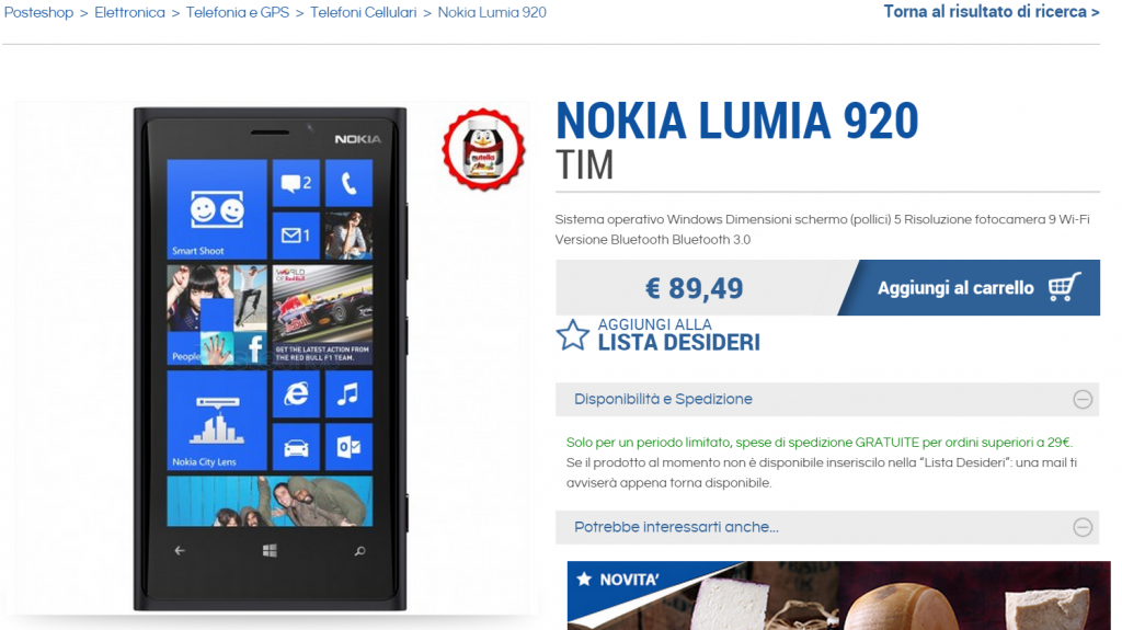 Lumia 920 Posteshop