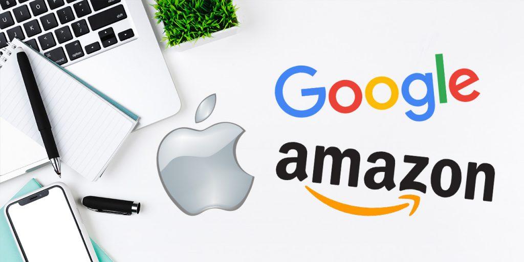 Risultati immagini per apple amazon google smart home